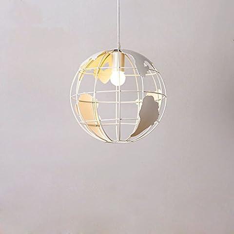 Ultra-Light Iron Kronleuchter (Globus) LED Kronleuchter (Umweltschutz), Backen Finish, Rost