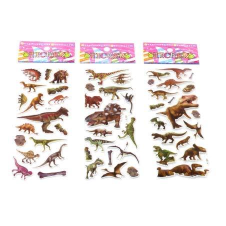YLGG Blase Aufkleber Dinosaurier Classic Toys Sammelalbum Erdbeere Für Kinder Kinder Geschenk Belohnung Aufkleber 50 stücke -