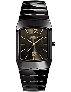 Dugena Damen-Armbanduhr Keramikuhren Analog Quarz Keramik 4460537