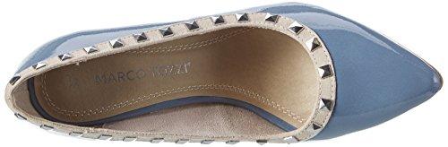 Marco Tozzi 22449, Scarpe con Tacco Donna Blu (Denim Comb 853)