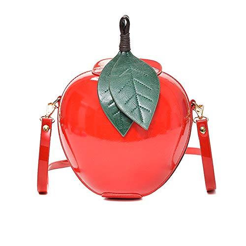 ZREAL Frauen-Dame-Schulter-Crossbody-Taschen-Frucht-Form-nettes PU-Leder für Handy - Frauen Frucht