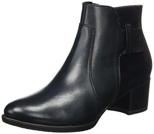 Tamaris Damen 25333 Stiefel, Blau (Navy/Brush), 39 EU (Boot Ankle Hi)