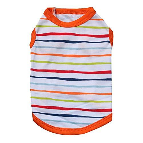 n Baumwolle Streifen t Shirt frühling/Summe einfache und Mode haustierkleidung kostüme ()
