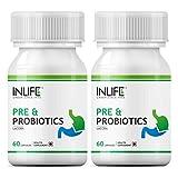 Inlife Prebiotics And Probiotics Digestion Acidity Supplement (60 Capsules) - Pack Of 3