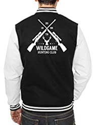 Hunting Club College Vest Negro Certified Freak