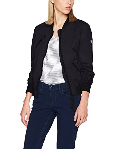 khujo Damen Jacke TENY Light Jacket, Schwarz (Black Be1), 52 (Herstellergröße:XXL)