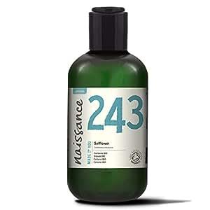 Naissance Safflower Oil 250ml Certified Organic 100% Pure