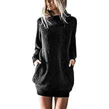 best website e8864 a4a37 maglioni lunghi donna eleganti - Amazon.it