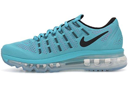 Nike Damen Wmns Air Max 2016 Laufschuhe Azul (Gamma Blue / Black-Pnk Blast-Wht)