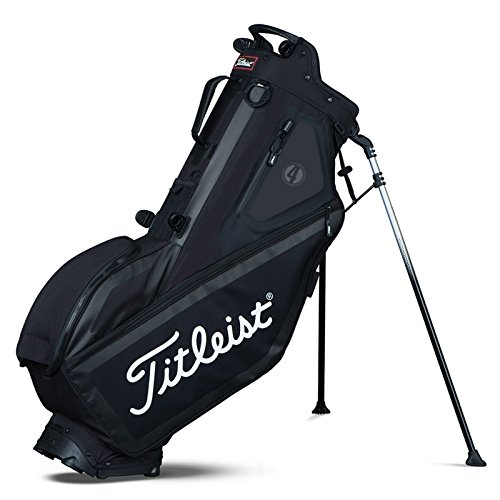 Titleist Players 4 Standbag -Schwarz