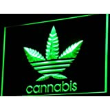 PEMA Lichtfluter i765-g Cannabis Marijuana Neon Light sign Barlicht Lichtwerbung Neonlicht