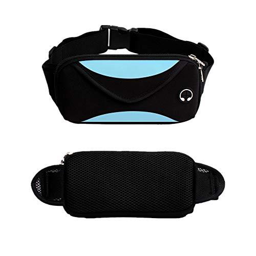 Erweiterbarer Bund (Multi-Funktion Outdoor Sport wasserdichte Hüfttasche, Waben Mesh-Design, Doppel-Schicht große Taschen, einfach zu tragen und leicht zu reinigen.)