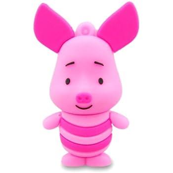 Prime No17600030016 Hi-Speed 2.0 USB-Sticks 16GB Schwein Langohr rosa