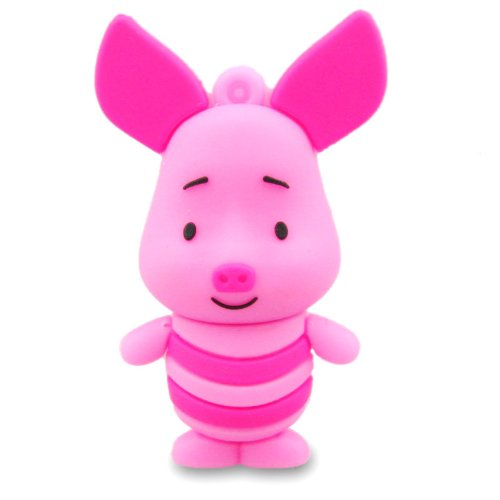 818-Shop No17600030002 USB-Sticks (2 GB) Schwein Langohr rosa