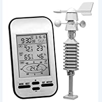 GAOYOO Professional Wireless Weather Station Anemometer With Wind Speed Direction Sensor Digital Wind Chill Temperature Humidity Meter