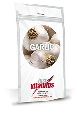 Just Vitamins Odourless Garlic 200mg Capsules by Just Vitamins Ltd