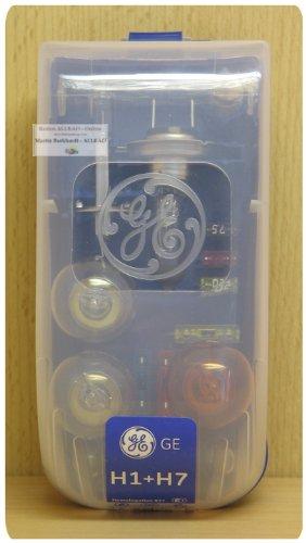 GE General Electric H7 + H1 12V Ersatzlampen-Box 15-teilig - General Electric Ersatzteile
