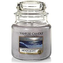 yankee candle Candela A Vaso Medio, Chiaro Di Luna