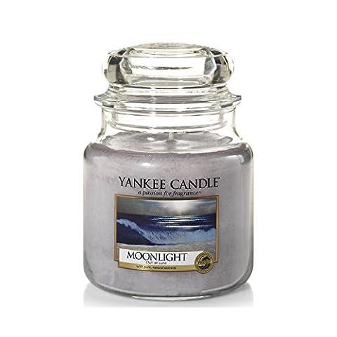 Yankee Candle 1507660E Bougie Parfumée Moyenne Jarre Claire de Lune