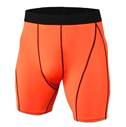 UUGYE Men's Activewear Workout Compression Cycling Bike Shorts 10 US S -