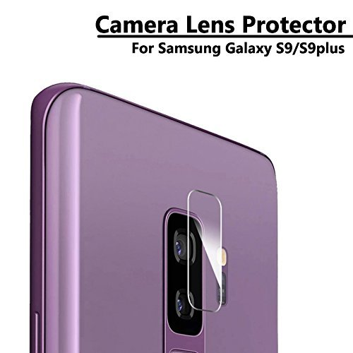 Queer Retails Queer Camera Lens Tempered Glass Protector High Premium Quality 9h Hard 2.5D ultra clear For Samsung Galaxy S9 Plus