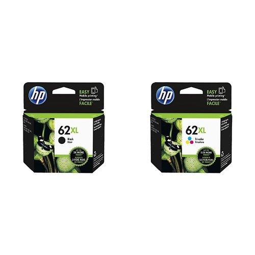 HP 62XL Farbe Original Druckerpatrone mit hoher Reichweite für HP ENVY, HP Officejet + HP 62XL...