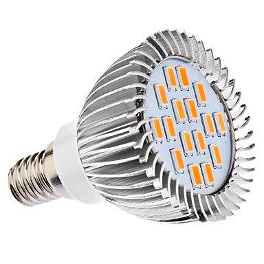 LLW-E14 5W 16x5630SMD 400-450LM 3000-3500K calientan la luz blanca LED del bulbo...