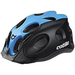 Catlike Tiko MT CV Casco de Ciclismo, Unisex Adulto, Negro (Black/Blue Matt), Talla Única