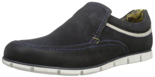 Marc Shoes Jamie 1.213.15-01 Herren Slipper Schwarz (black-offwhite 891)