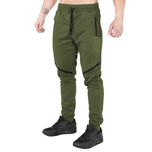 SMILODOX Slim Fit Jogginghose  TechPro