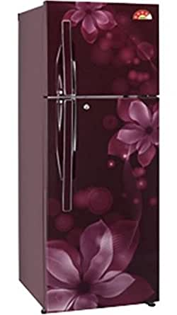 LG 310 L 4 Star Frost-Free Double Door Refrigerator (GL-U322JSOL, Scarlet Orchid)