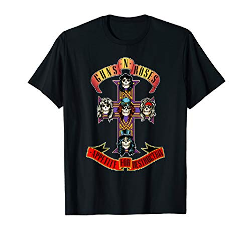 Guns N\' Roses Classic Cross Logo T-Shirt