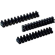 Voltman VOM511053 - Lote de 6 regletas de conexión (3 de 4 mm, 2 de 6 mm y 1 de 10 mm)