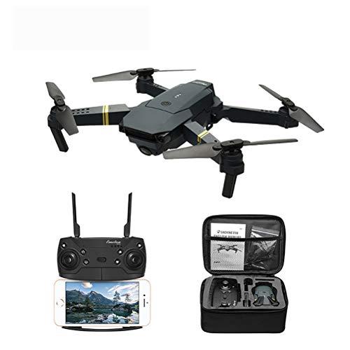 JHSHENGSHI Drohne mit Kamera HD live übertragung,Return to Home,Follow Me,rc quadrocopter ferngesteuert mit brushless Motor,Anfänger und Experte, Black