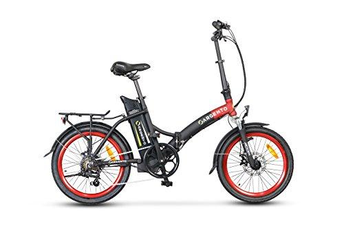 Argento Piuma, Bicicletta Elettrica Pieghevole, Assicurazione AXA