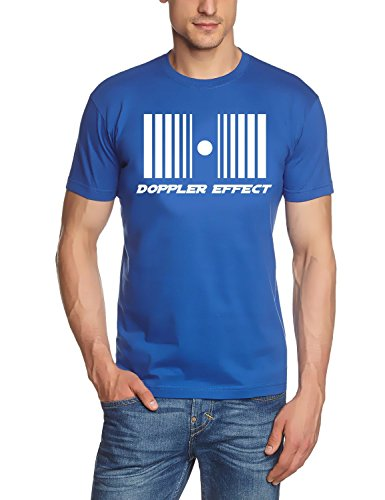 DOPPLER eFFECT coole-fun-t-shirts t-shirt pour homme Bleu xxl