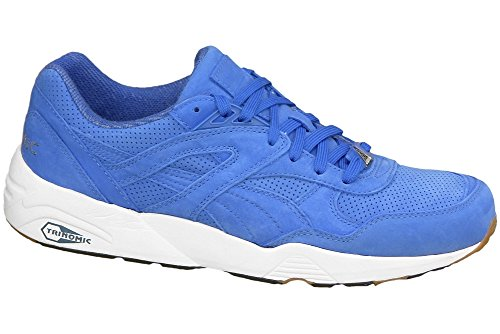 Puma Herren R698 Trinomic 359314-02 Sneaker, Mehrfarbig (Blue 001), 46 EU -
