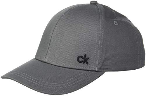 Calvin Klein Herren CK Baseball Cap M, Grau (Steel Greystone 008), One Size