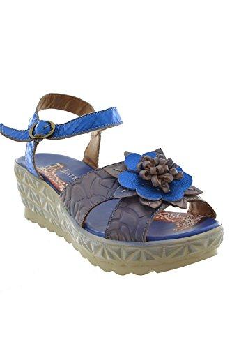 Sandali, nu piedi laura vigie vita, colore: blu, Blu (blu), 40