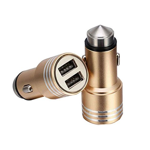 Cdrox Auto-Ladegerät DC 12V Dual Socket 2 USB-Anschlüsse Auto-Träger-Zigarettenanzünder-Adapter-Energien-Buchse Ladegerät