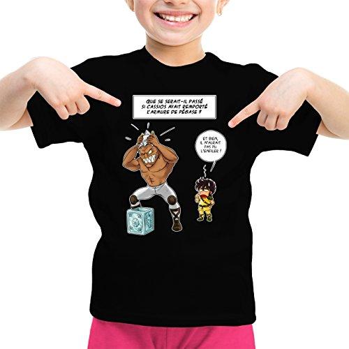T-Shirts Saint Seiya - Les Chevaliers du Zodiaque parodique Cassios Seiya Chevalier de Bronze de Pégase : L'armure de Pégase a Choisi Son Nouveau maître. (Parodie Saint Seiya - Les Chevaliers du