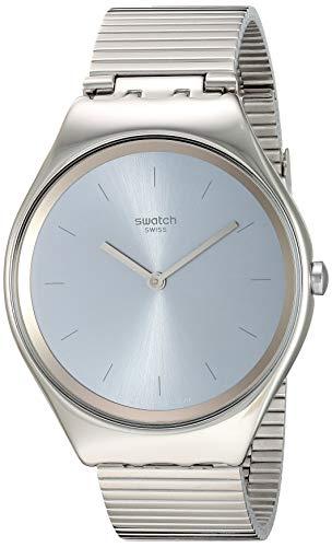 Swatch Orologio Analogico Quarzo Unisex Adulto con Cinturino in Acciaio Inox SYXS103GG