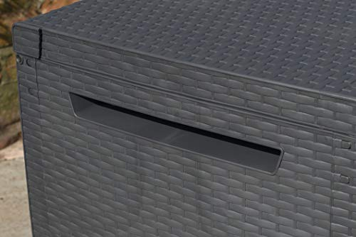 Keter Auflagenbox Capri, grau, 302 L, 223cm - 6