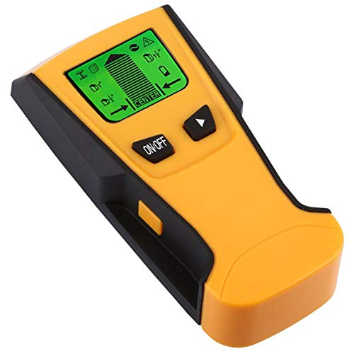 Heaviesk Metal Stud Detector TH210 3-IN-1 Digitales Center Finding Wood Wall Stud Finder Hintergrundbeleuchtung LCD-Anzeige Metall-Wechselstrom-Live-Draht-Detektor Metal Detector Lcd