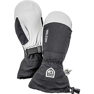 Hestra Herren und Damen Skihandschuhe: Armee Leder, Winddicht, wasserabweisend