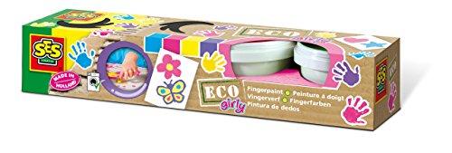 fussabdruck farbe Eco 24927 - Fingerfarbe Girly 4 Farben