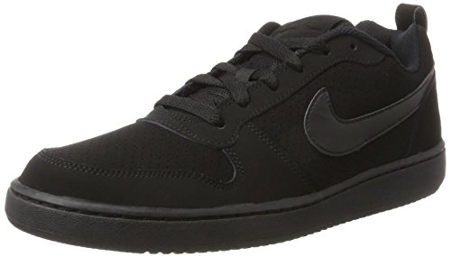Nike Court Borough Low, Zapatillas para Hombre, Negro (Black/Black/Black), 44 EU