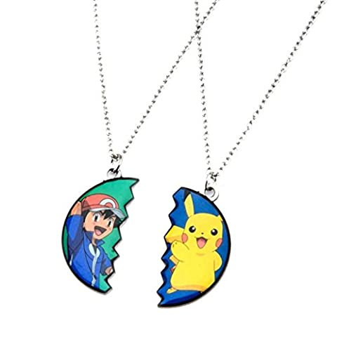 Pokemon Pikachu & Ash Ketchum BF Pendant