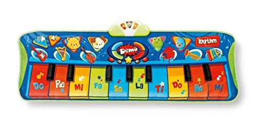 winfun Keyboard Matten Spielteppich erstes Piano mit Licht und Sound (Matte Sound)