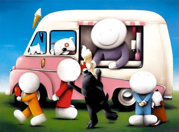Summertime - Limited Edition Print By Doug Hyde